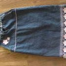 beautiful girls size 6 denim sundress