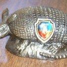 Tourist Trap Souvenir Pot Metal Armadillo from Texas