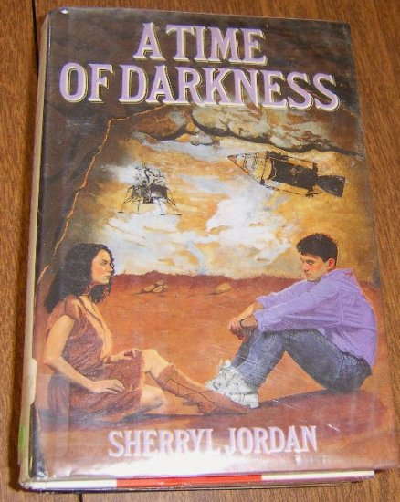 Free Shipping 1990 A Time of Darkness by Sherryl Jordon / HC DJ Nice Condition