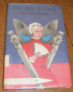 Free Shipping 1977 First Edition The Opal - Eyed Fan by Andre Norton / HC DJ / Ghost Story