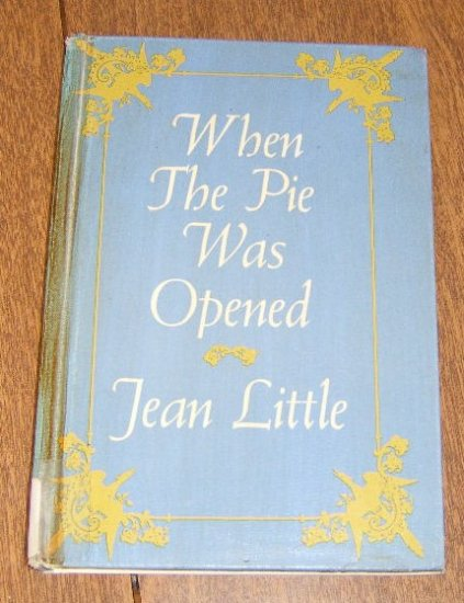 Free Shipping Poetry  1968 First Edition When the Pie was Opened by Jean Little