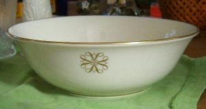 1980 Avon President's  Club Bowl By Lenox signed Free Shipping
