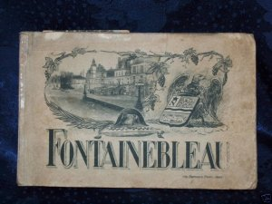 WW1 Era Illustrated French Booklet of The Fontainebleau
