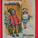 Early 1900's Samson Brothers Artist Signed Christmas Postcard Series CS 666
