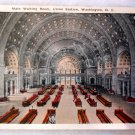 Vintage Postcard of Union Station Passenger Concourse Washington DC