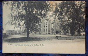 1913 Photo Postcard Rochester New York - St. Bernard's Seminary