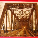 1911 Collotype Photo Postcard North Bank Railway Bridge Vancouver WA - Portland OR