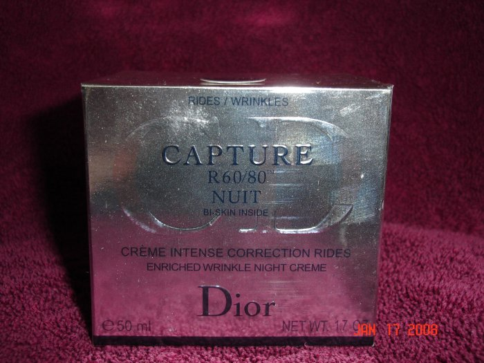 Dior Capture R60/80 Nuit Bi-Skin Inside Enriched Wrinkle Creme
