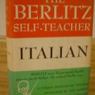 The Berlitz Self Teacher Italian 1950 Learn Italian