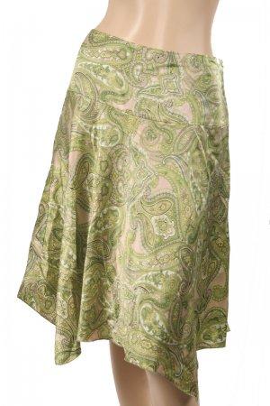 INC NEW Green Paisley Silk Skirt Size 2P $89