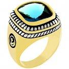 NEW 14k Gold White Gold  Topaz CZ  Ring