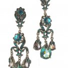 Kirks Folly NEW  Austrian Crystal Chandelier Earrings