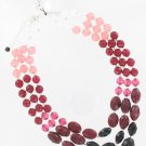 White House Black Market Pink Beaded Necklace