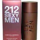 Carolina Herrera 212 Sexy Men 3.4 oz EDT Spray Men