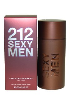 Carolina Herrera 212 Sexy Men 3.4 oz EDT Spray Men