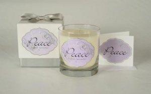 Cadeau Soy Peace Lavender Jar Candle 10.5 oz