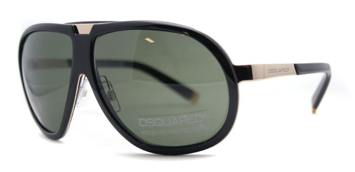 DSquared DQ 0004 01N Black Unisex Sunglasses