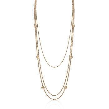 14K Gold Multi-Chain Necklace