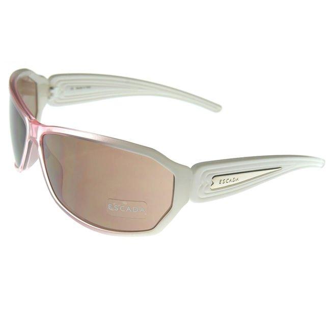 ESCADA SES 039 06TR White Pink Womens Sunglasses