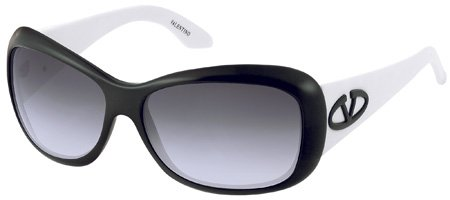 Valentino 5555/S QAP Womens Black Sunglasses