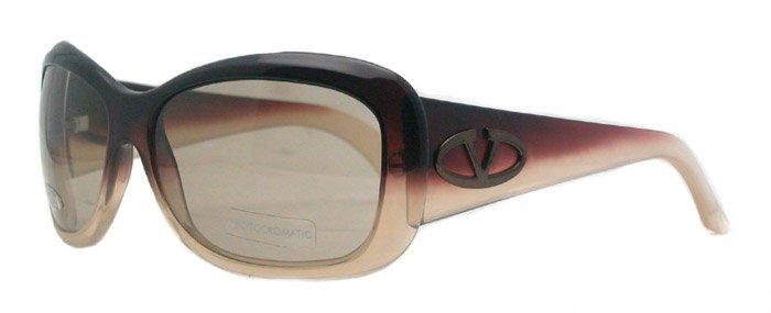 Valentino 5555/S QAN Womens Brown Sunglasses