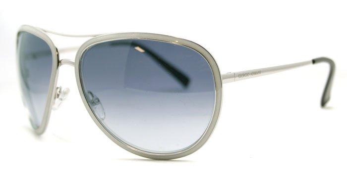 Giorgio Armani GA 564 QOB Silver Unisex Sunglasses