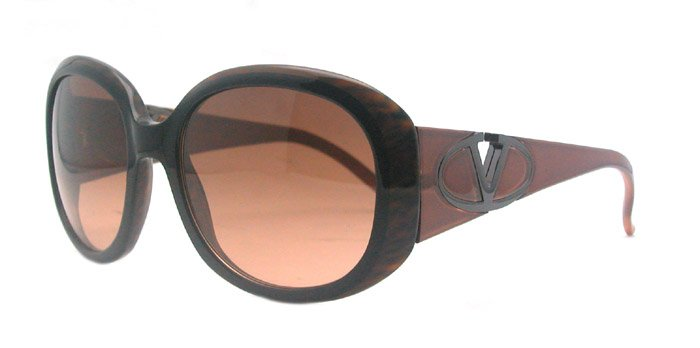 Valentino 5570/s TKY Womens Brown Sunglasses