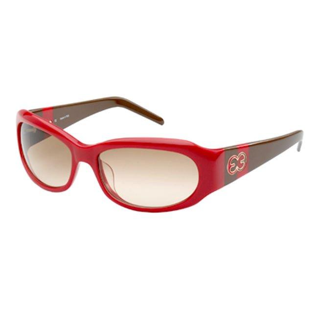 ESCADA SES 066 09FA Red Brown Womens Sunglasses