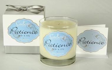 Cadeau Soy Patience Lilac & Lily Jar Candle 10.5 oz