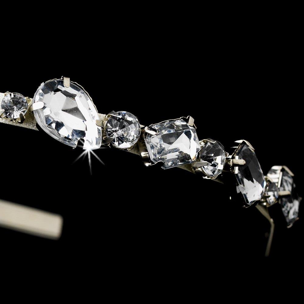 Silver Sparkling Rhinestone Crystal Headband