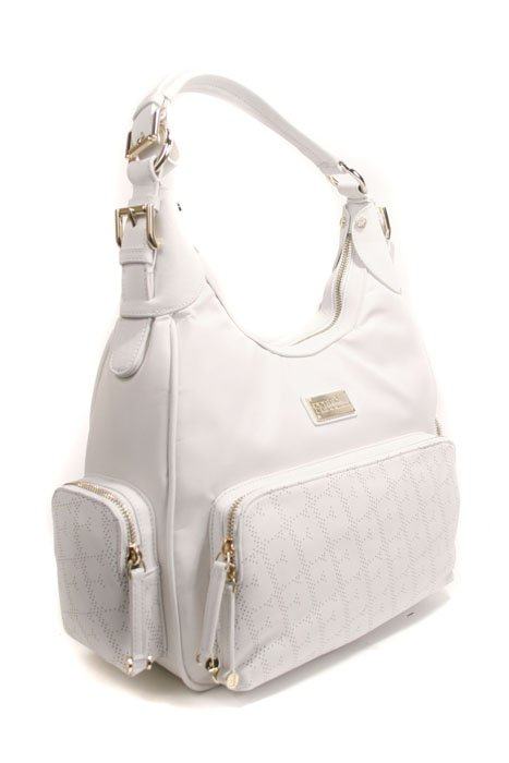 Gianfranco Ferre 67 TXFBO2 80550 White Leather Handbag