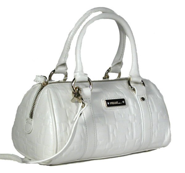 Gianfranco Ferre 67 TXDBHM 80625 White Leather Handbag
