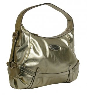Gianfranco Ferre 67 TXDBKA 80584 Gold Handbag Purse