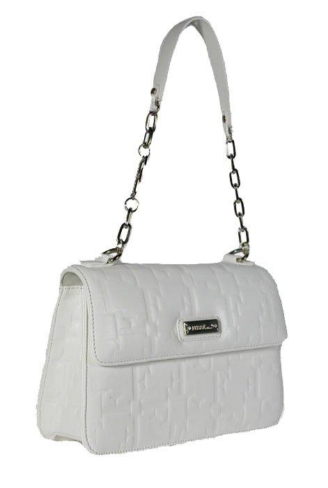 Gianfranco Ferre 67 TXDBHL 80625 White Leather Handbag