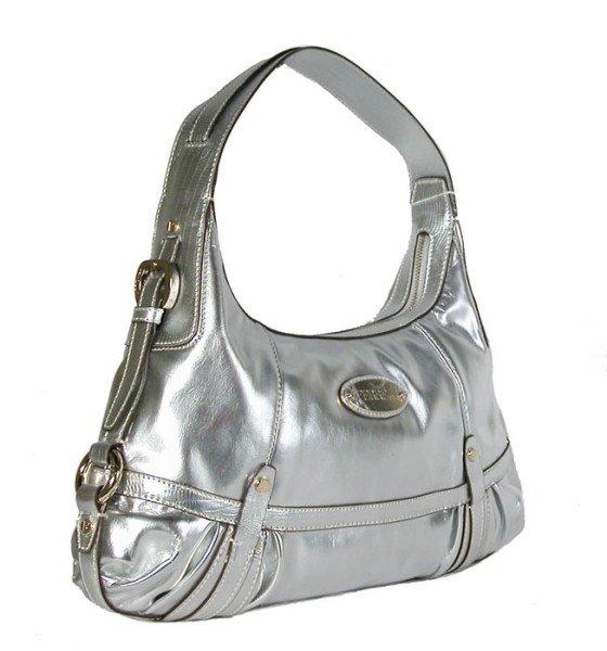 Gianfranco Ferre 67 TXDBKD 80584 Matte Silver Handbag