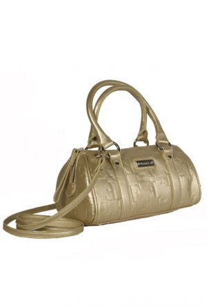 Gianfranco Ferre 67 TXDBHM 80625 Gold Leather Handbag