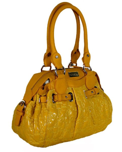 Gianfranco Ferre 67 TXDBYA 80621 Yellow Handbag Purse