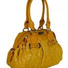 Gianfranco Ferre 67 TXDBYA 80621 Yellow Handbag Purse