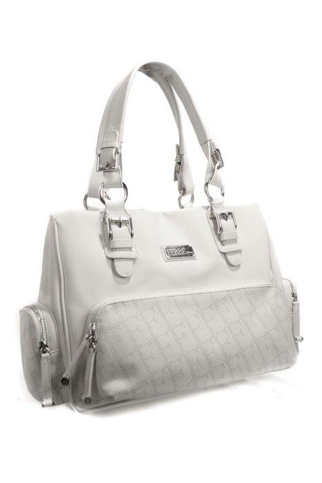 Gianfranco Ferre 67 TXFBO5 80550 White Leather Handbag