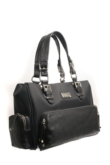 Gianfranco Ferre 67 TXFBO5 80550  Black Leather Handbag