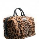 Dolce & Gabbana DG BB2547 Leopard Ponyskin Handbag