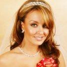 Silver Rhinestone Crystal Bridal Tiara