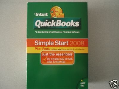 Intuit QuickBooks Simple Start 2008 Plus Pack