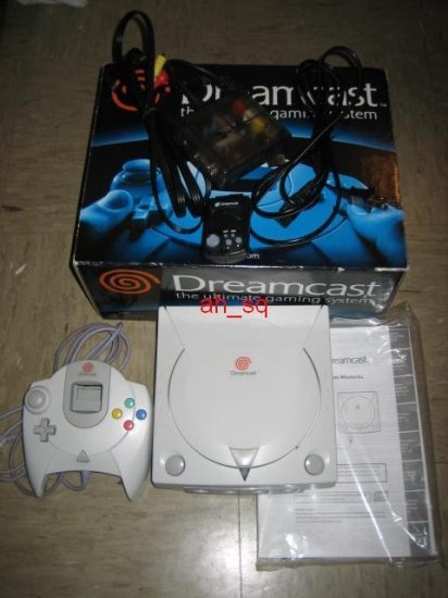 Sega Dreamcast - Game console - gray with free 25 games!