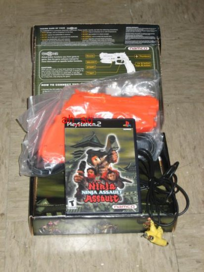 Ninja Assault (With Gun): Namco Ltd. (Playstation 2, Sep 2002) GunCon 2 Included! PS2
