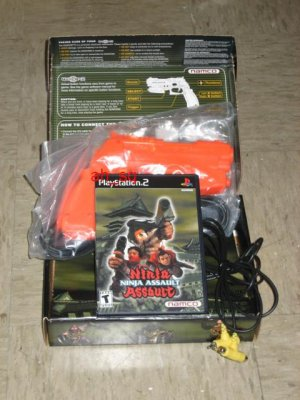 Ninja Assault (With Gun): Namco Ltd. (Playstation 2, Sep 2002) GunCon 2 Included! PS2