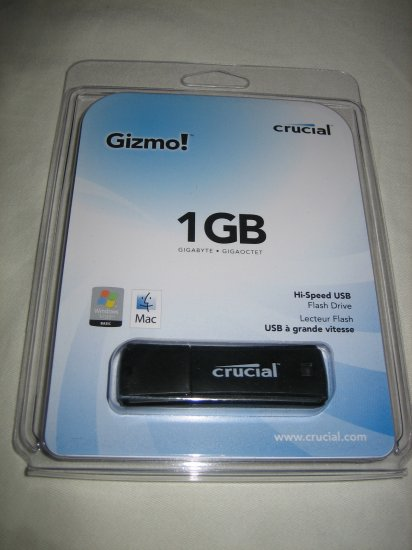 Crucial 1GB USB Flash Drive (JDOD1GB)