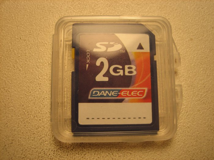 Brand New Dane-Elec 2GB SD Secure Digital Card