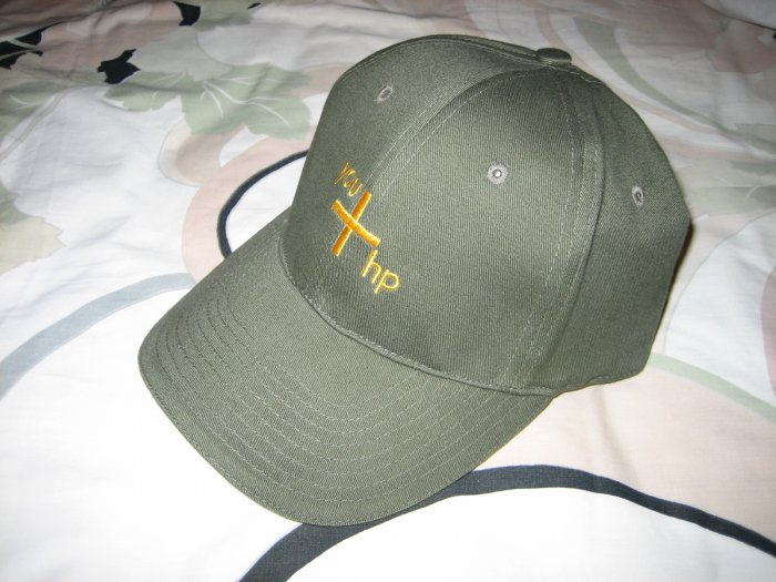 Brand New Limited Edition HP Go Green Earth Cap