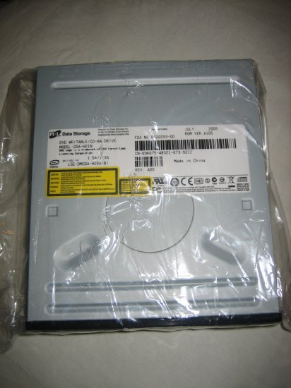 Excellent Condition Black Hitachi LG GSA-H21N DVD+-RW / CD-RW Drive Burner